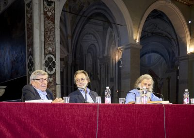 Vincenzo Scotti, Niccolò Branca, Guidalberto Bormolini